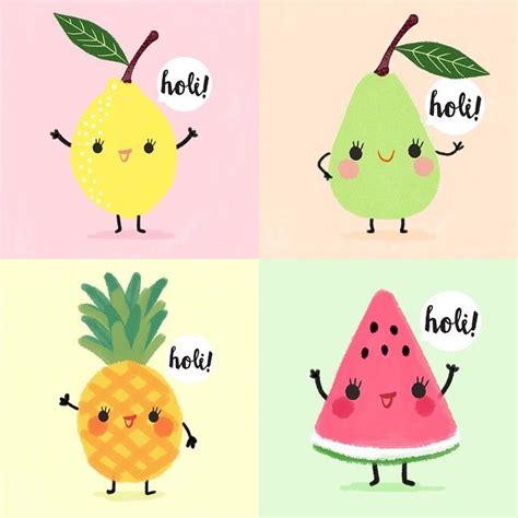 imagenes kawaii frutas m 225 s de 25 ideas incre 237 bles sobre frutas kawaii en