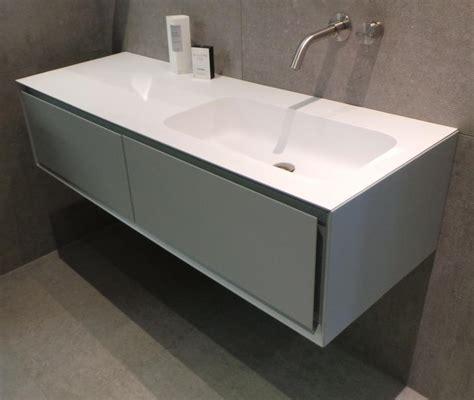 badkamermeubel met 1 wasbak rifra wastafel cristalplant met 1 wasbak en geen kraangat