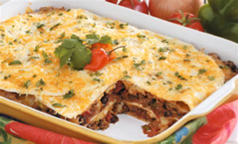 taste of home cooking school terrific taco lasagna recipe