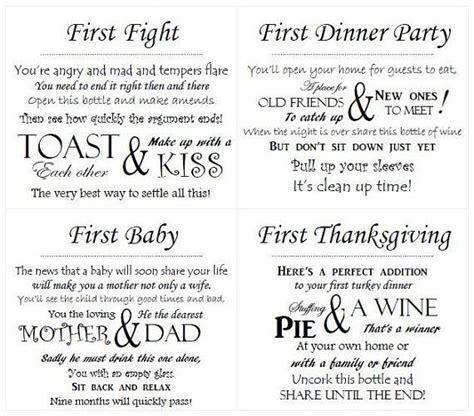 printable bridal shower wine poems printable wine poem wine tag template just b cause