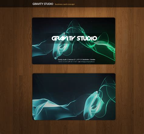 Gravity Gift Card - gravity business cards by alivepixel on deviantart