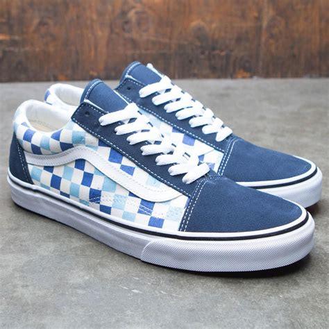 Blue Topaz Checkerboard vans school checkerboard blue topaz