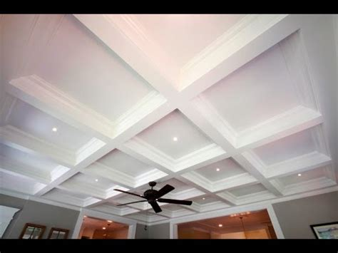 Prefab Coffered Ceiling Tilton Box Beam Coffered Ceiling System Easily The
