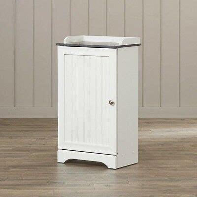 bathroom storage cart small cabinets  standing floor