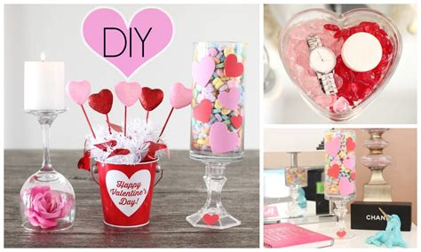 diy valentines decorations diy room decor for valentine s day youtube