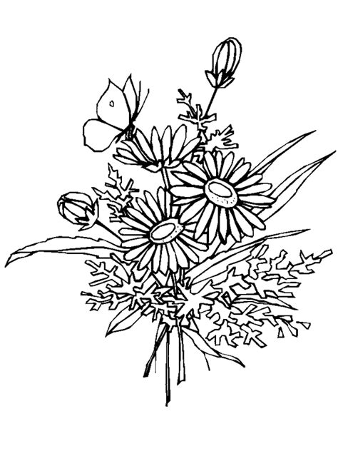coloring pages of flowers and plants flowers coloring pages minister coloring