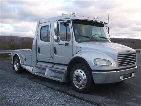sportchassis for sale used 2005 freightliner m2 sport chassis flatbed truck for