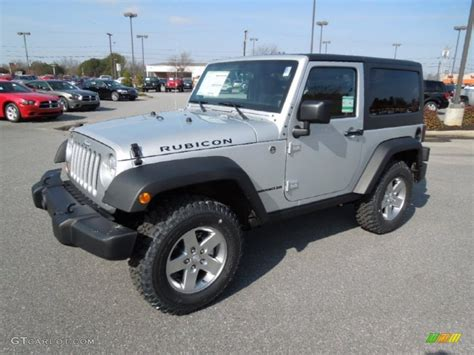 jeep rubicon silver 2012 bright silver metallic jeep wrangler rubicon 4x4