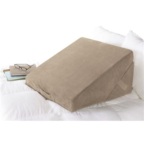 Wedge Pillow Brookstone brookstone memory foam wedge pillow wayfair