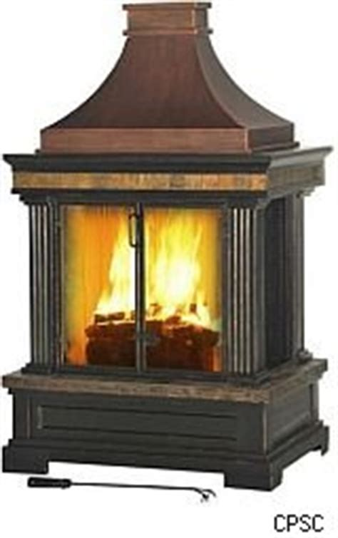Outdoor Gas Fireplace Lowes by Outdoor Fireplace Recall Was Sold At Lowe S Aol Finance