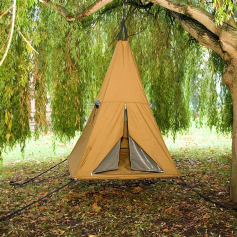 hanging tent hanging out coolest treehouses hanging tents pocket ranger 174