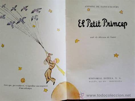 libro el petit princep libro el principito el petit princep 1 170 ed comprar libros de cuentos en todocoleccion