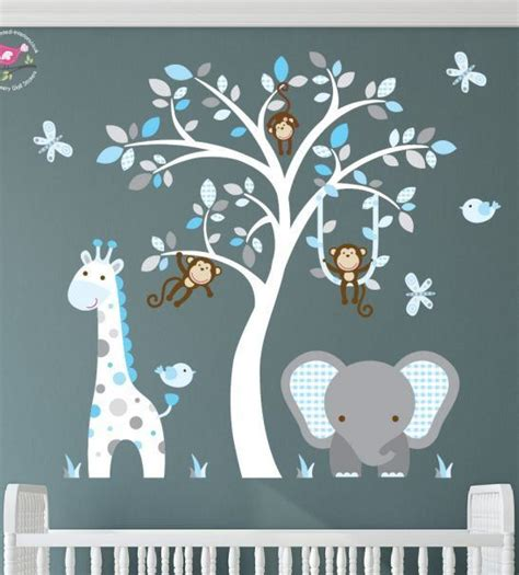 jungle wall stickers for nursery 17 best ideas about jungle nursery on jungle nursery boy zoo nursery and jungle