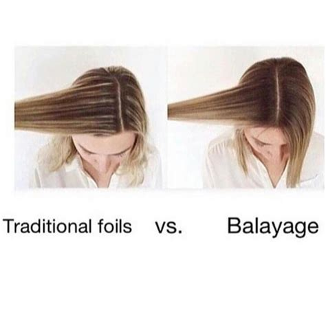 how many packets between a full hair foil and a partial foil the 25 best ideas about balayage vs highlights on