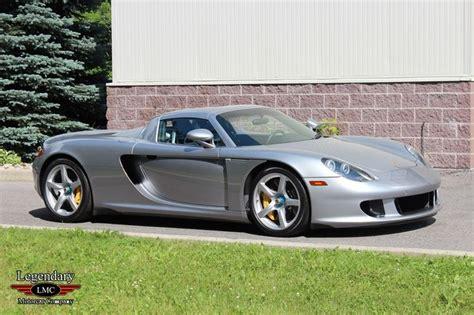 Porsche 2005 For Sale by 2005 Porsche Carrera Gt For Sale 1835655 Hemmings Motor