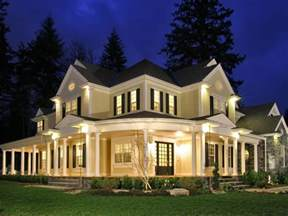 country house with wrap around porch terrace country home plan 071s 0032 house plans and more