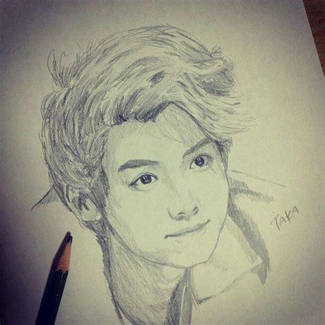 Kpop Sketches by Luhan Sketch Kpop Fanart Kpopfanart Kpop Fanart
