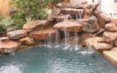 rock waterfalls for pools swimming pools with rock waterfalls pictures pixelmari com