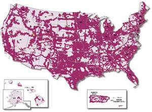 t mobile 4g lte coverage map