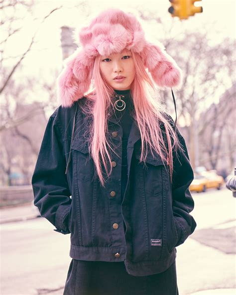 10 of new york s coolest models wrap up in winter s best