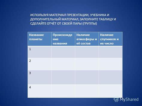 Тест на таблицу квадратов