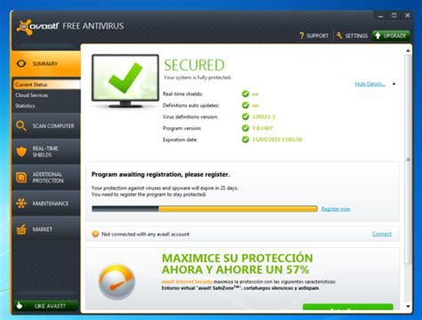 download antivirus full version free gratis avast free antivirus 8 0 1497 download full version