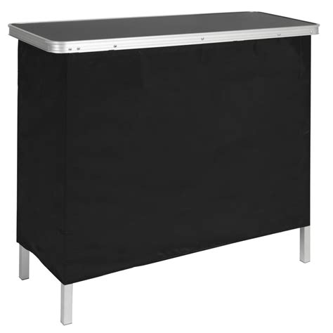 portable high top bar portable high top pop up bar table w carrying case