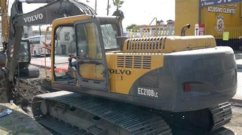 volvo ec210blc excavadora volvo ec210blc