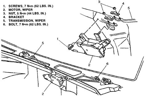 replace  wiper linkage    chevy