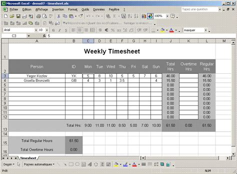 excel timesheet template convert and edit excel workbooks
