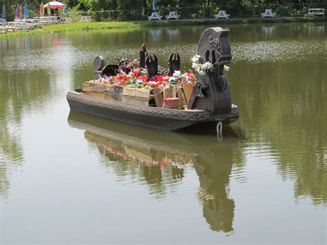 fire boat funeral free images water boat river pond reflection