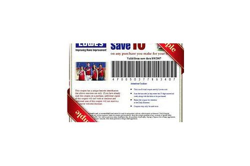 lowes realtor coupons