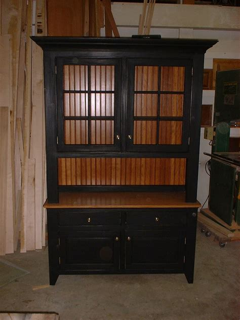 Handmade Hutches - crafted shaker hutch by custom woodworking design