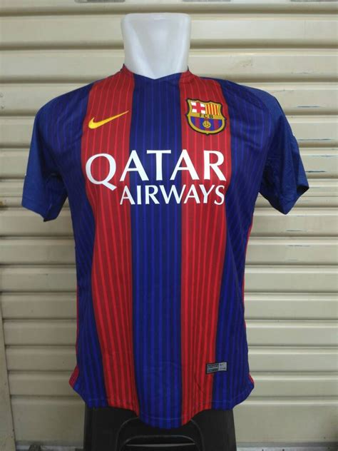 Jersey Barcelona Home 2017 2018 Grade Ori Official jual jersey barcelona home 2016 2017 grade ori official rocket s jersey