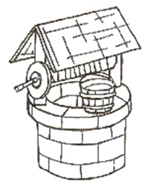 coloring page water well isaac digs wells coloring page coloring pages
