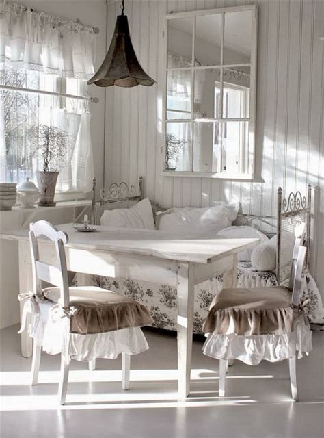 Shabby Chic Dining Room Decor by 35 Beautiful Shabby Chic Dining Room Decoration Ideas