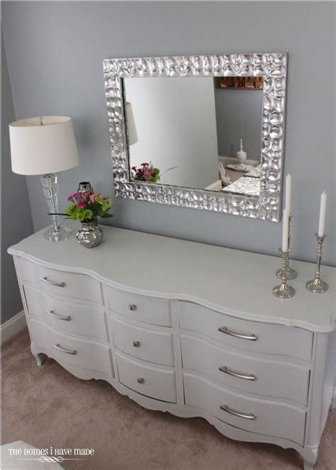 mirror over dresser ideas hang a mirror on wall above dresser instead of attaching