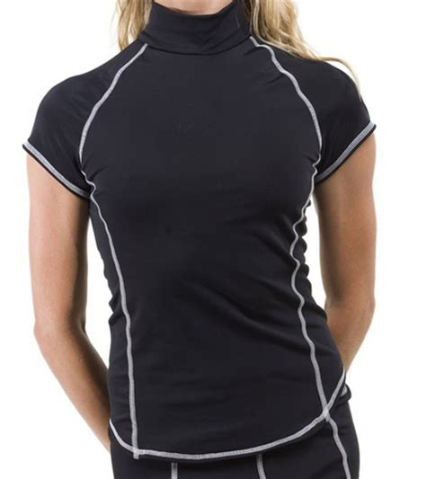 girls4sport s s rashguard with shelf at swimoutlet