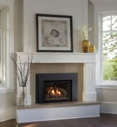 Gas Fireplace Mantel Surrounds by 25 Best Ideas About Corner Fireplace Mantels On