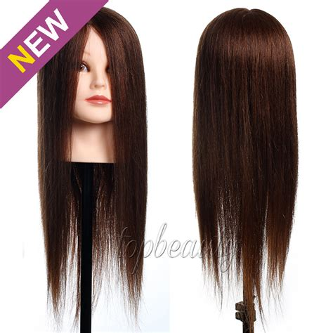 100 Human Hair Mannequin by All 100 Real Human Hair Mannequin