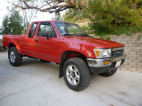 91 Toyota 4x4 Find Used 91 Toyota 4x4 Calif 88k Orig And Paint