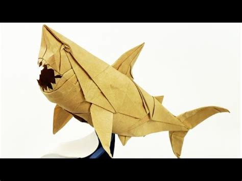 Origami Great White Shark - origami great white shark nguyen ngoc vu complex