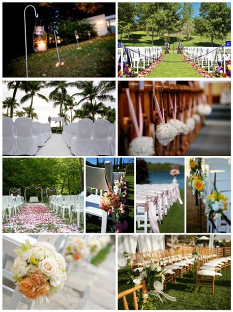 Wedding Up Aisle by Wedding Decoration Ideas For Dressing Up Your Aisle