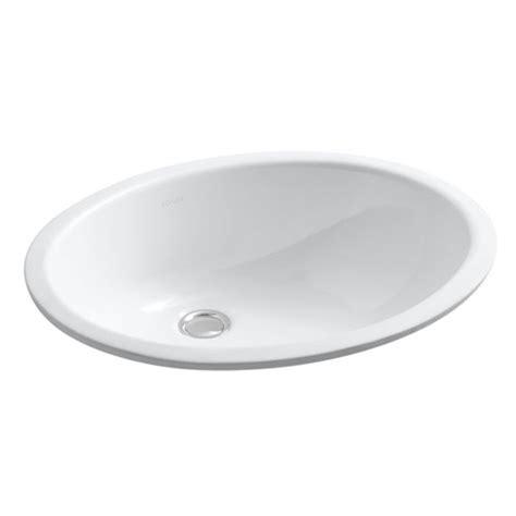 Kohler Lavatory Sink by Kohler K 2210 0 Undercounter Lavatory Sink White