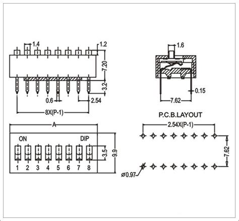 Dip Switch 6 Position 6 Pin Merah dip switch 4 position datasheets from china manufacturer