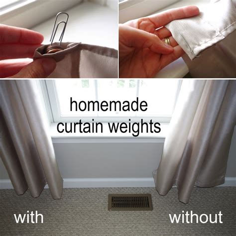 drapery weight brilliant curtain hacks for your home decor