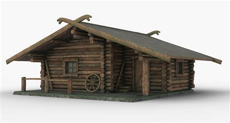 hunting house hunting house 3d obj