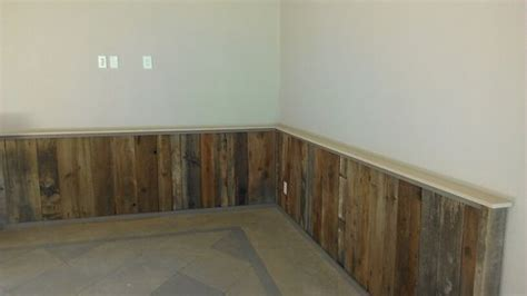 Pallet Wainscoting by Pallet Wood Wainscoting Search Bath
