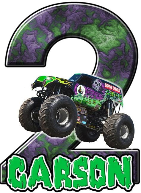 grave digger monster truck party supplies 23 best monster jam party images on pinterest monster