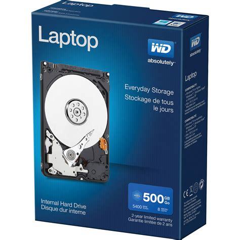 Hardisk Laptop Wd 1tb wd 500gb laptop mainstream hdd retail kit wdbmyh5000anc